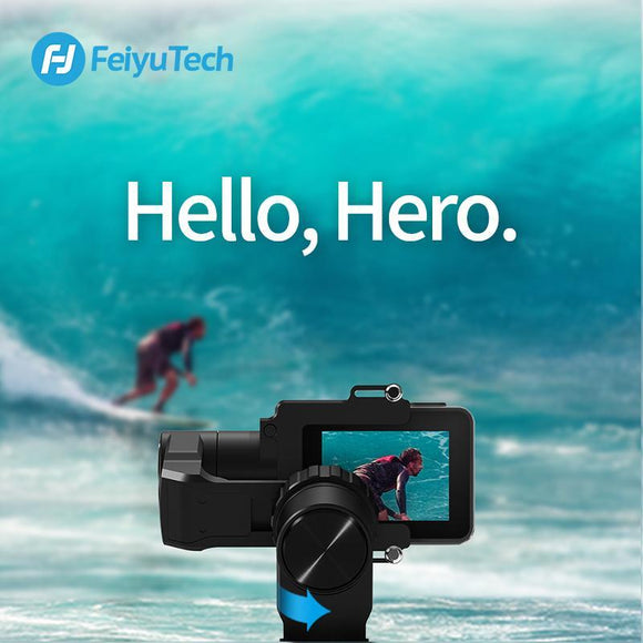 FeiyuTech WG2X Water Resistant Wearable Gimbal for Action Cameras