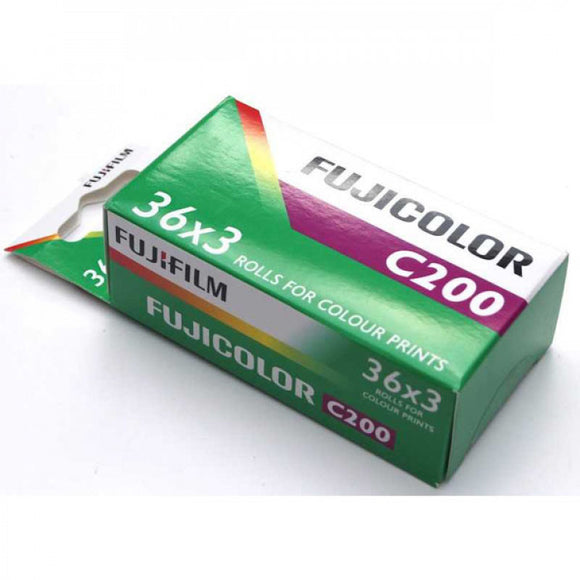 FUJIFILM FUJICOLOR C200 EC 135/36 Exposure Film - 3 pack
