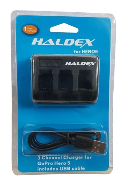 GOPRO HERO 5 TRIPLE CHARGER (HALDEX REPLACEMENT BRAND)