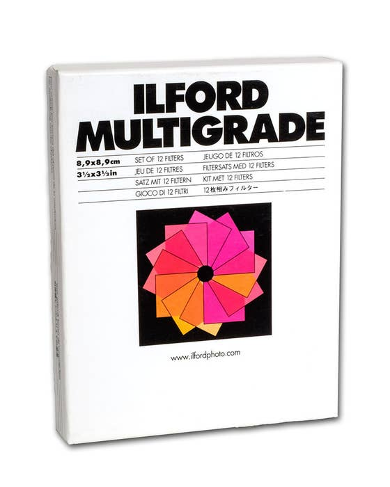 ILFORD MULTIGRADE ABOVE THE LENS ENLARGER FILTER SET