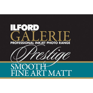 Ilford Galerie Smooth Fine Art Matt 190gsm A4 10 Sheets