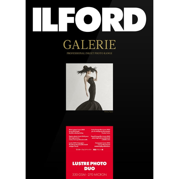 Ilford Galerie Lustre Photo Duo Inkjet Paper 330gsm