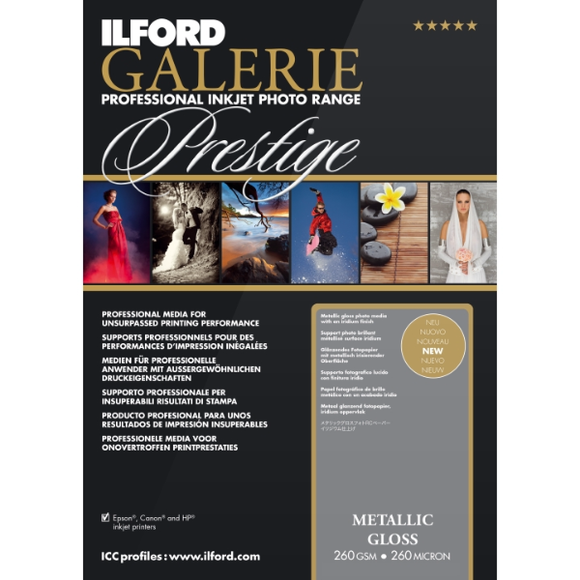 Ilford Galerie Metallic Gloss 260gsm