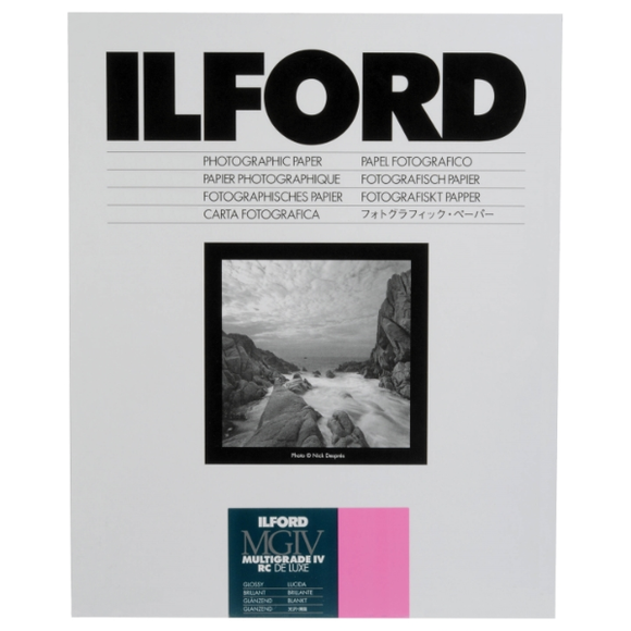 Ilford Multigrade IV RC Deluxe 1M Glossy B&W Paper
