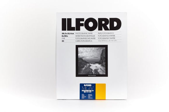 Ilford Multigrade IV RC Deluxe 25M Satin B&W Paper