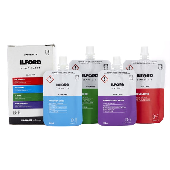 Ilford Simplicity B&W Film Starter Pack