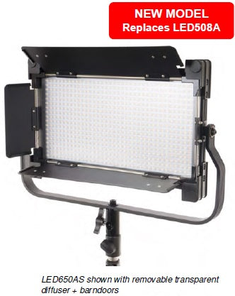 LS LED650AS VIDEO LIGHT WITH LST806 LIGHT STAND