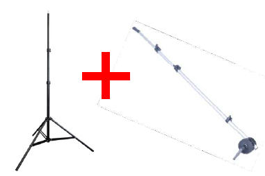 LIGHT STAND LT806 & REFLECTOR ARM KIT
