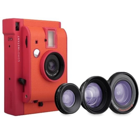 Lomography Lomo'Instant Camera with 3 lenses