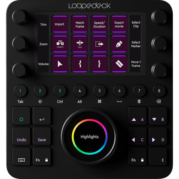 Loupedeck CT Photo & Video Editing Console