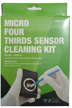 MICRO FOUR THIRDS SENSOR CLEANING KIT VSGO DDR-12