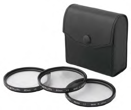 72MM CLOSE UP FILTER SET MARUMI