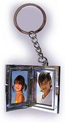 Mens Locket Key Ring