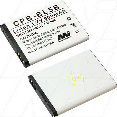 NOKIA CPB-BL5B BATTERY (MASTERS REPLACEMENT)
