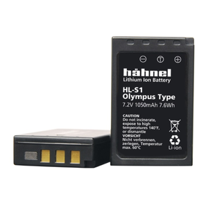 OLYMPUS PS-BLS1 BATTERY (HAHNEL REPLACEMENT) - 2 YEAR WARRANTY