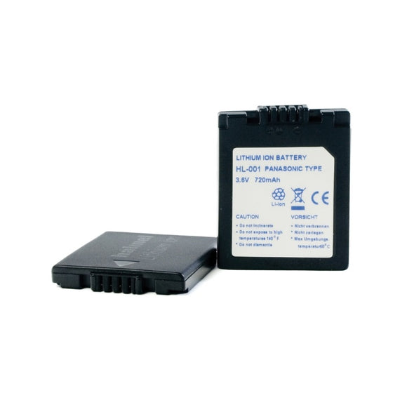 Panasonic CGA-S001A Battery