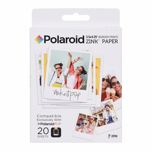 Polaroid Zink Media 3×4 Film 20 Sheet