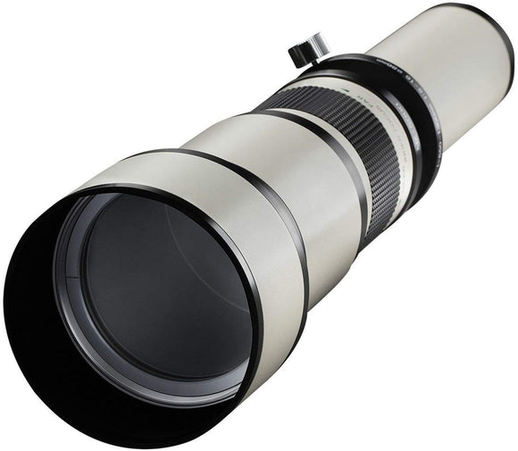 Samyang 650-1300mm Zoom Lens (T-Mount required)