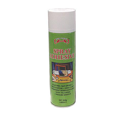 Spray Adhesive 470ml (Helmar)