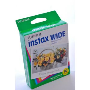 INSTAX WIDE FUJI INSTANT FILM - PACK OF 10 SHOTS