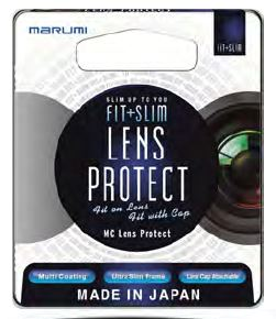 62MM LENS PROTECTOR (LP) FIT + SLIM FILTER