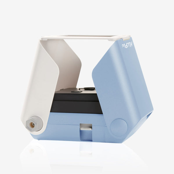 KiiPix Instant Photo Printer Blue