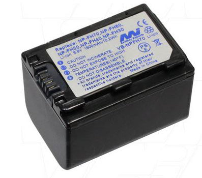 BATTERY SONY NP-FH100 (MASTERS INTRUMENTS REPLACEMENT)