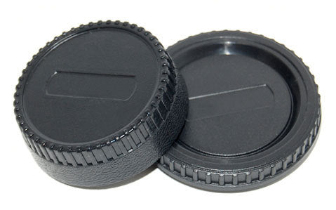 Rear Lens & Body Cap Pentax(generic)