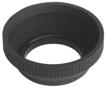 55MM RUBBER LENS HOOD