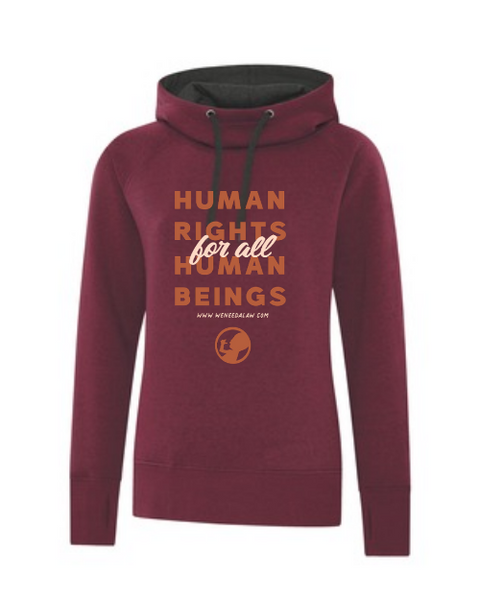 Women's Human Rights for all Human Beings Hoodie