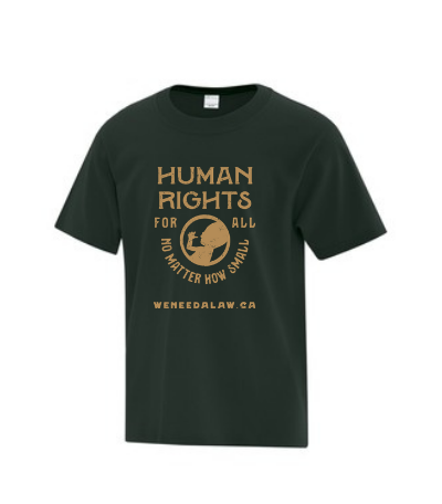 Youth 'Human Rights For All' T-Shirt