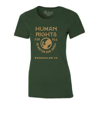 Women's 'Human Rights for All' T-Shirt