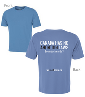 Men's 'Canada Has No Abortion Law' T-Shirt