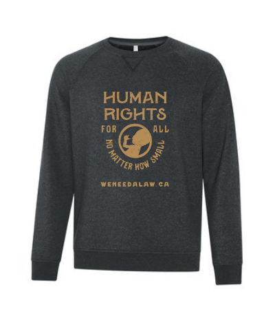 Unisex 'Human Rights For All' Crew Neck