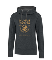 Women's 'Human Rights For All' Black Hoodie