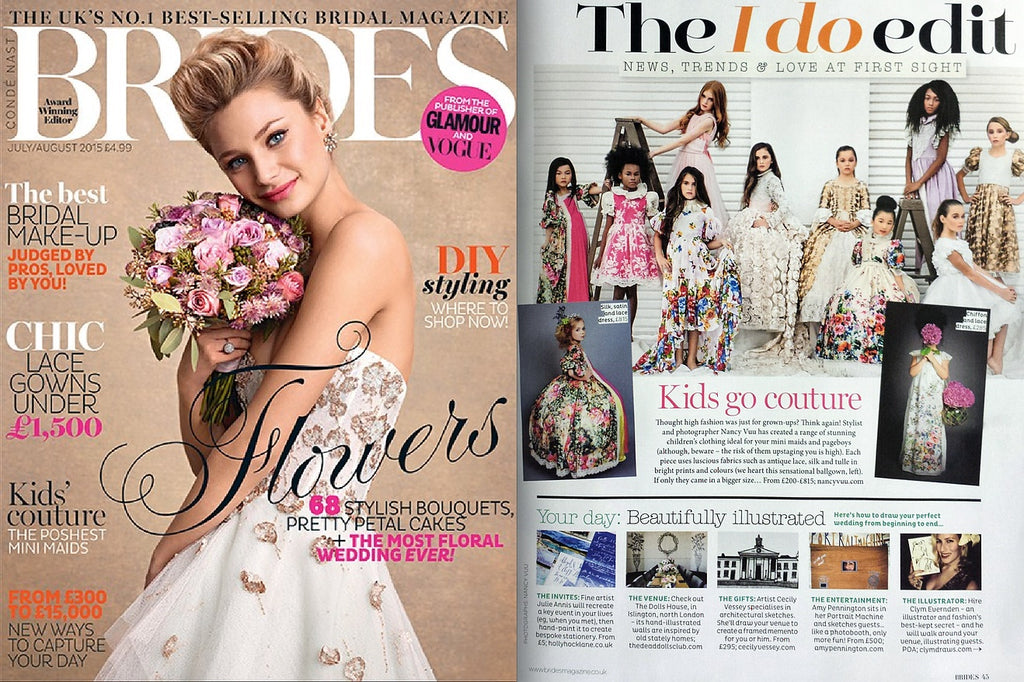 Featured: Brides Magazine