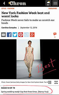 Best of NYFW Post Show Coverage