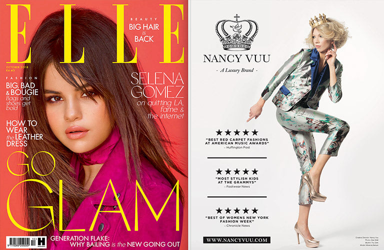 Feature: Nancy Vuu in Elle Magazine