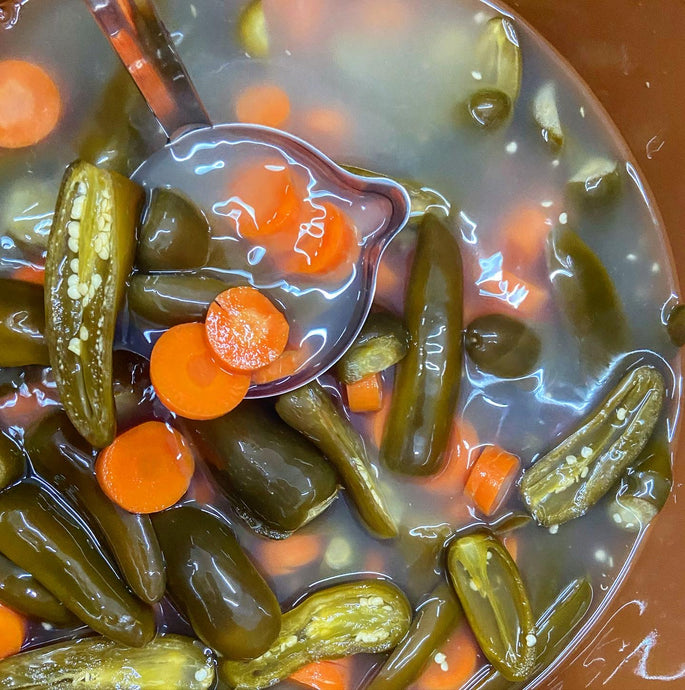 Fermented Jalapeños & Carrots - Another Mother Fermentorium