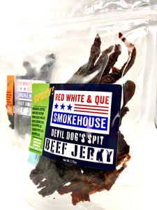 Devil Dog's Spit Beef Jerky - Another Mother Fermentorium