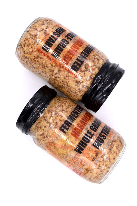 Fermented Habanero Whole Grain Mustard - Another Mother Fermentorium