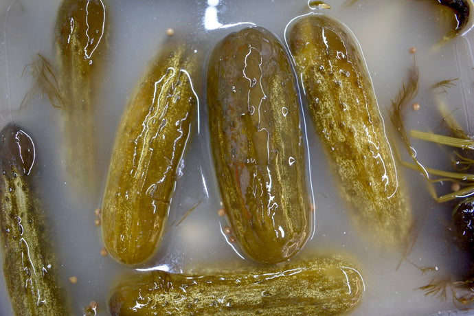 Full Sour Garlic Pickles - Another Mother Fermentorium