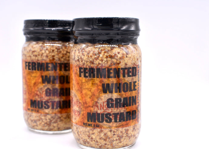 Fermented Whole Grain Mustard - Another Mother Fermentorium
