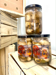 Pickled Shrooms - Another Mother Fermentorium