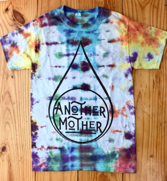 Tie Dye Drop Logo T Shirt - Another Mother Fermentorium