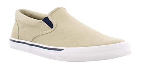 Sperry-Men's-Striper II Slip On-Cement-S19