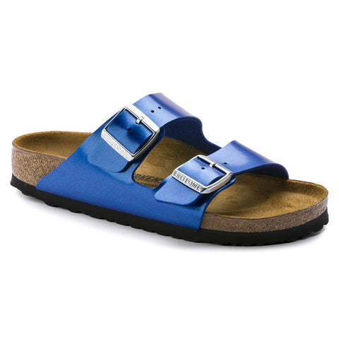 Birkenstock-Arizona-Electric Metallic Taupe(1012972), Electric Metallic Ocean(1012970)-S19
