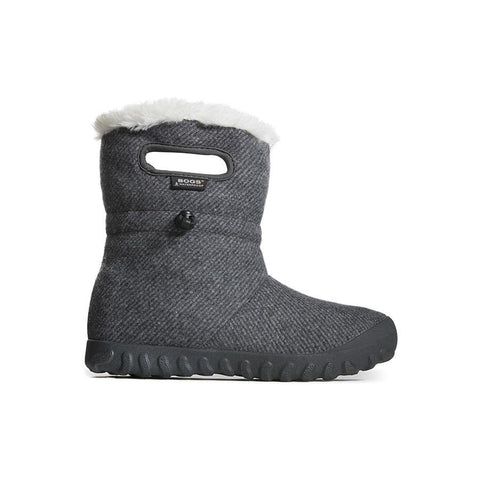 Bogs-Women's- B Moc Wool - Charcoal, Black 72106-F18,F19
