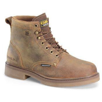 "Carolina- 6"" Smooth Sole Waterproof Work Boot- CA3044"