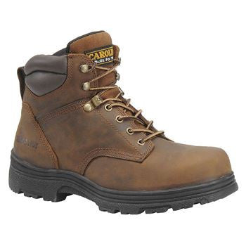 "Carolina- 6"" Steel Toe Work Boot- CA3526"